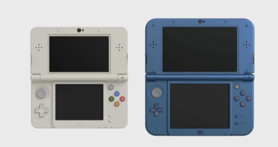 Новые New Nintendo 3DS и New Nintendo 3DS XL