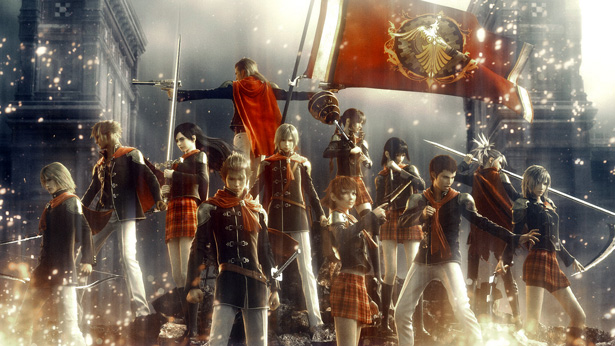 Игра Final Fantasy Type-0. Постер