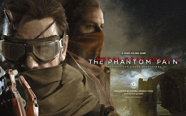 Metal Gear Solid 5: The Phantom Pain. Постер