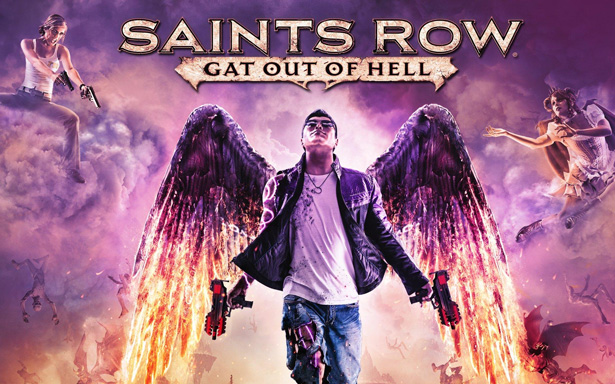 Игра Saints Row: Gat out of Hell. Постер